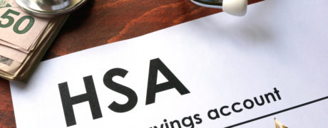 Paperwork for opening a health savings account (HSA)